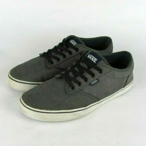 VANS Off The Wall Gray Sneakers Shoes 11